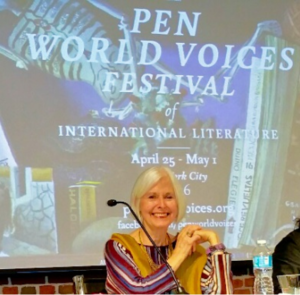 Marjolijn deJager at Pen World Voices Festival
